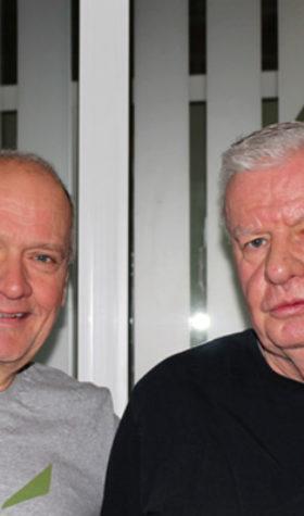 Eckhard Noack und Werner Sponholz